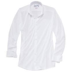 Functional Twill Hemd Modern Fit Men - 42 - weiß