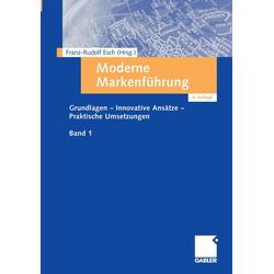 Moderne Markenführung als Buch von