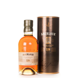Aberlour 18 Years Old Single Malt Scotch Whisky 0,5L