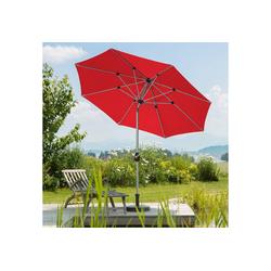 Schneider Schirme Sonnenschirm Venedig, ohne Schirmständer rot