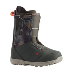 Burton - Moto Dark Green/Camo - Herren Snowboard Boots - Größe: 10,5 US