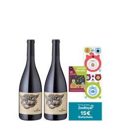2er-Paket tierisch guter Wein + 15€ ZooRoyal Gutschein - Weinpakete