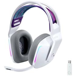 Logitech Gaming G733 LIGHTSPEED Gaming Headset 2.4GHz Funk schnurlos, Stereo On Ear Weiß
