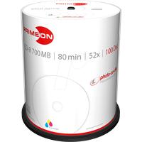 PrimeOn CD-R 80 Rohling 700 MB 100 St. Spindel Bedruckbar