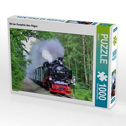 Mit der Dampflok über Rügen Lege-Größe 64 x 48 cm Foto-Puzzle Bild von Silvia Ott Puzzle