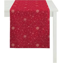 APELT Tischläufer 3009 Christmas Elegance (1-tlg) rot
