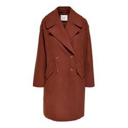 ONLY Oversize Coat Damen Braun Female S