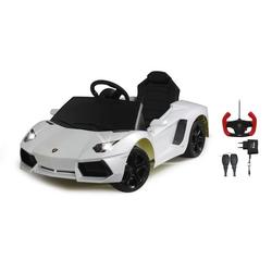 Ride-on Lamborghini Aventador weiß 40 MHz 6V