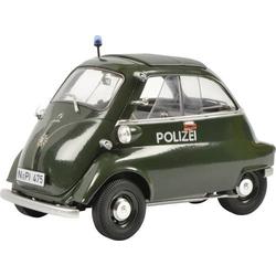 Schuco BMW Isetta Exp. Polizei 1:18 Modellauto