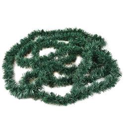 Festgirlande, Folie Ø 6 cm, 5 m grün , flammensicher, Papstar (86188), 5 Stück