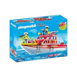 Playmobil® Spielzeug-Boot PLAYMOBIL® 70147 - City Action - Feuerlöschboot