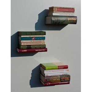 """Buchregal """"Discreto"""" Bücherregal Wandregal unsichtbares Regal,"""