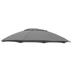 Ersatzschirmbespannung sungarden, Ø 375 cm, Ø 375 cm, rund grau