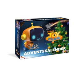 CRAZE Spiel, Adventskalender Super Toy Club 41 x 32,5 x 6,2cm