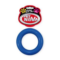 Hundespielzeug Kauspielzeug RING9-BL Ringo Vanille Aroma 9cm blau