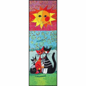 Fußmatte Rosina Wachtmeister Fußmatte waschbar Momenti 60x180 cm SLD0153-060x180, Salonloewe
