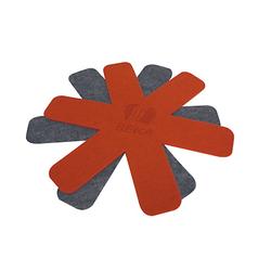 Beka Pfannenuntersetzer Rot & Grau 38 cm