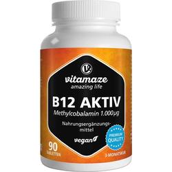 Vitamaze B12 Aktiv 1.000 µg vegan Tabletten