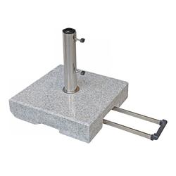 Doppler Trolley-Granit-Schirmsockel mit Rollen,,40 kg