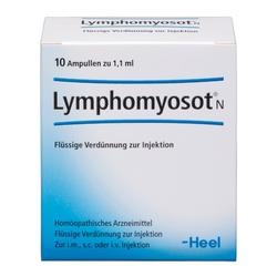 LYMPHOMYOSOT N Ampullen 10 St
