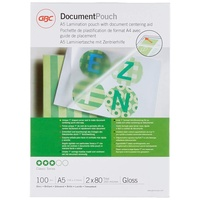 GBC Document Laminating Pouches A5 100 St.