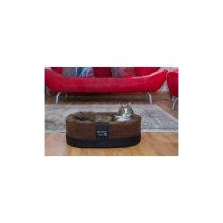 Exklusiver Katzenkorb Amy Style 55x42x18cm braun