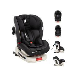 Kikkaboo Autokindersitz Kindersitz Kindersitz Strong Isofix, 13.9 kg, Gruppe 0+/1/2/3 (0 - 36 kg), 5-Punkt-Gurt schwarz