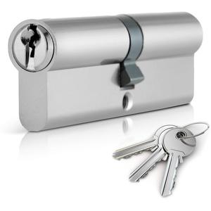 XFORT® Euro-Zylinderschloss 35/50 (85mm), Euro-Türriegelschloss mit 3 Schlüsseln, Anti-Drill- und Anti-Pick-Türschloss mit Schlüssel zur Gewährleistung hoher Sicherheit für alle Türarten.