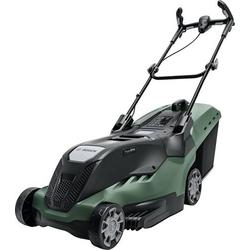 Bosch Home and Garden UniversalRotak 650 Elektro Rasenmäher mit Schnitthöhenverstellung, mit Rasen