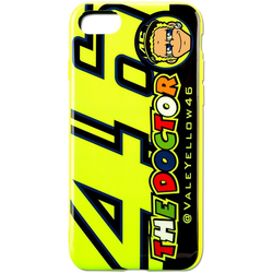 VR46 Cupolino Iphone 7 Phone Case, black-yellow, Größe One Size