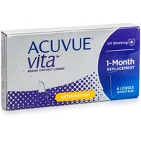 Acuvue Vita for Astigmatism (1x6) / 8.60 BC / 14.50 DIA / +1.00 DPT / -0.75 CYL / 180° AX
