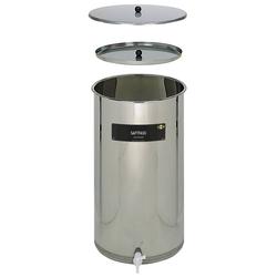 Saftfass 65 Liter aus Edelstahl