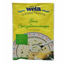 Feine Spargelcremesuppe 3 Teller - wela