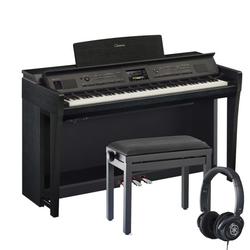 Yamaha Clavinova CVP-805 Digitalpiano Schwarz Set