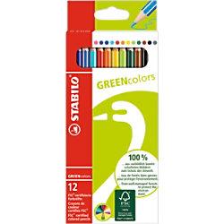 STABILO Buntstifte GREENColors Gemischt 12 Stück