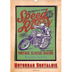 Motorrad Nostalgie (Wandkalender 2021 DIN A3 hoch)