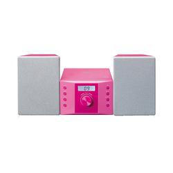 Lenco Stereoanlage rosa