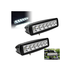 Einfeben LED Scheinwerfer 2X 18W Rückfahrscheinwerfer Scheinwerfer 12V 24V Arbeitslicht LKW Rückfahrscheinwerfer Work Light, LED