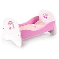 Bayer Design Puppenbett weiß/rosa