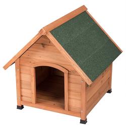 EUGAD Hundehütte 0004TL, Hundehaus Hundehöhle Wetterfest 72x76x76 cm