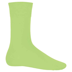 City-Socken Baumwolle | Kariban lime 39/42