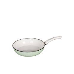 Riess Bratpfanne Ceramik Glas Pfanne GREEN, Emaille (1-tlg) Ø 28 cm x 6.5 cm