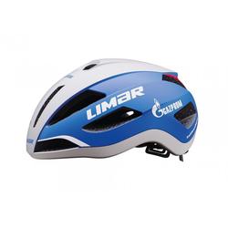 LIMAR Fahrradhelm Fahrradhelm Limar Air Master weiß/blau, Gr. L (57-