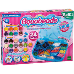 Aquabeads Maxi Nachfüllbox 2.400 Stück 79958