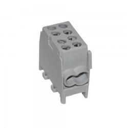 Hauptleitungs Abzweigklemme Kabelklemme HLAK 25 1/2 M2 1,5-25mm2 1P VDE GRAU 0787 / 0671