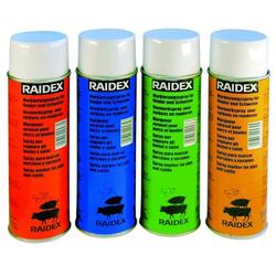 Viehzeichenspray »Raidex« markiert Alter · 500ml, in 4 Farben