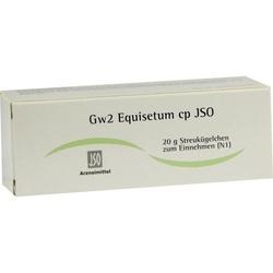 JSO Gw 2 Equisetum cp Globuli 20 g