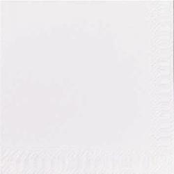 Duni Zelltuch Servietten 24x24 3lg 1/4 weiß - 8x250 Stück