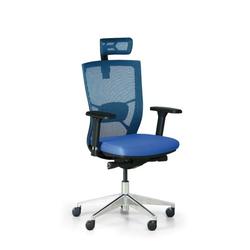 Bürostuhl designo, blau