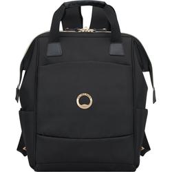 Delsey Laptoprucksack Montrouge, black, mit TSA-Schloss